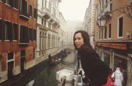 Wereldreis blogger Evey in Venetie