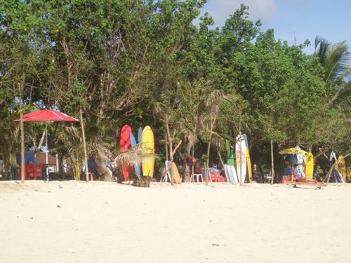 Surfverhuur op Kuta