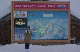 Pistekaart Saint Jean D'Arves