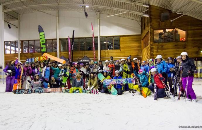 Chicky Clinics, snowplanet, clinic, snowboarden, meiden
