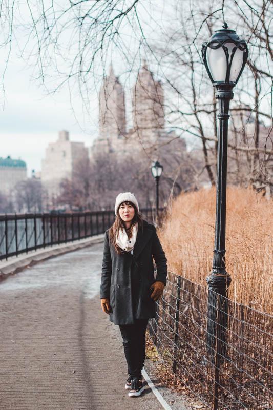 meisje in central park