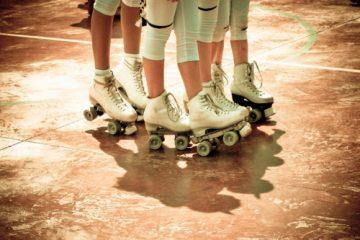 Vintage rolschaatsen