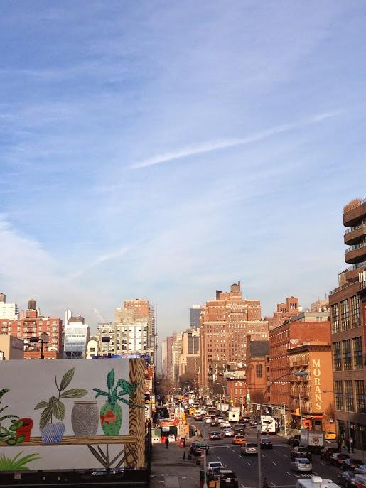 New York highline in Chelsea