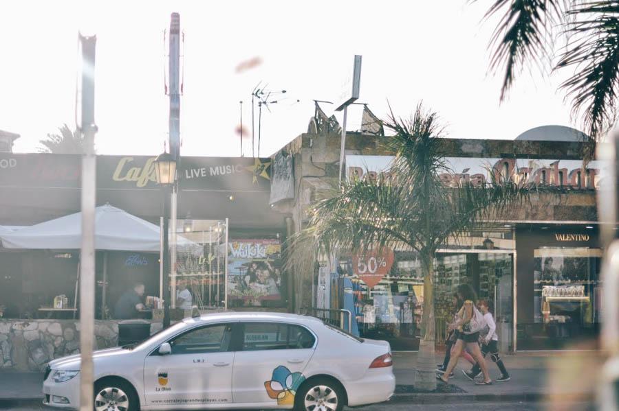 winkelstraat Corralejo