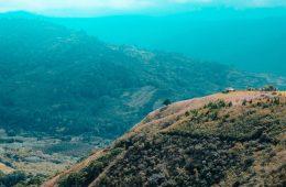 costa rica bergen en uitzicht