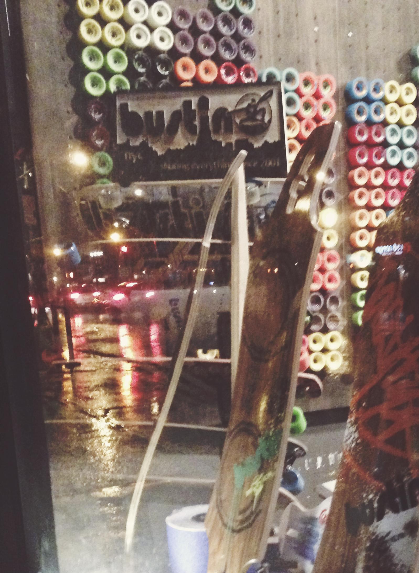 Longboard loft NYC,. New York longboard shops