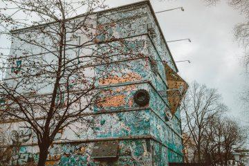 Klimmuur in Berlijn