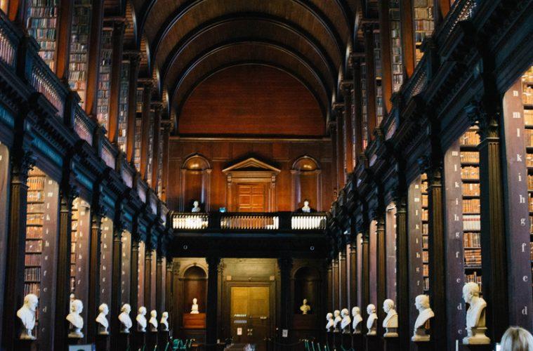 Trinity in Dublin bibliotheek