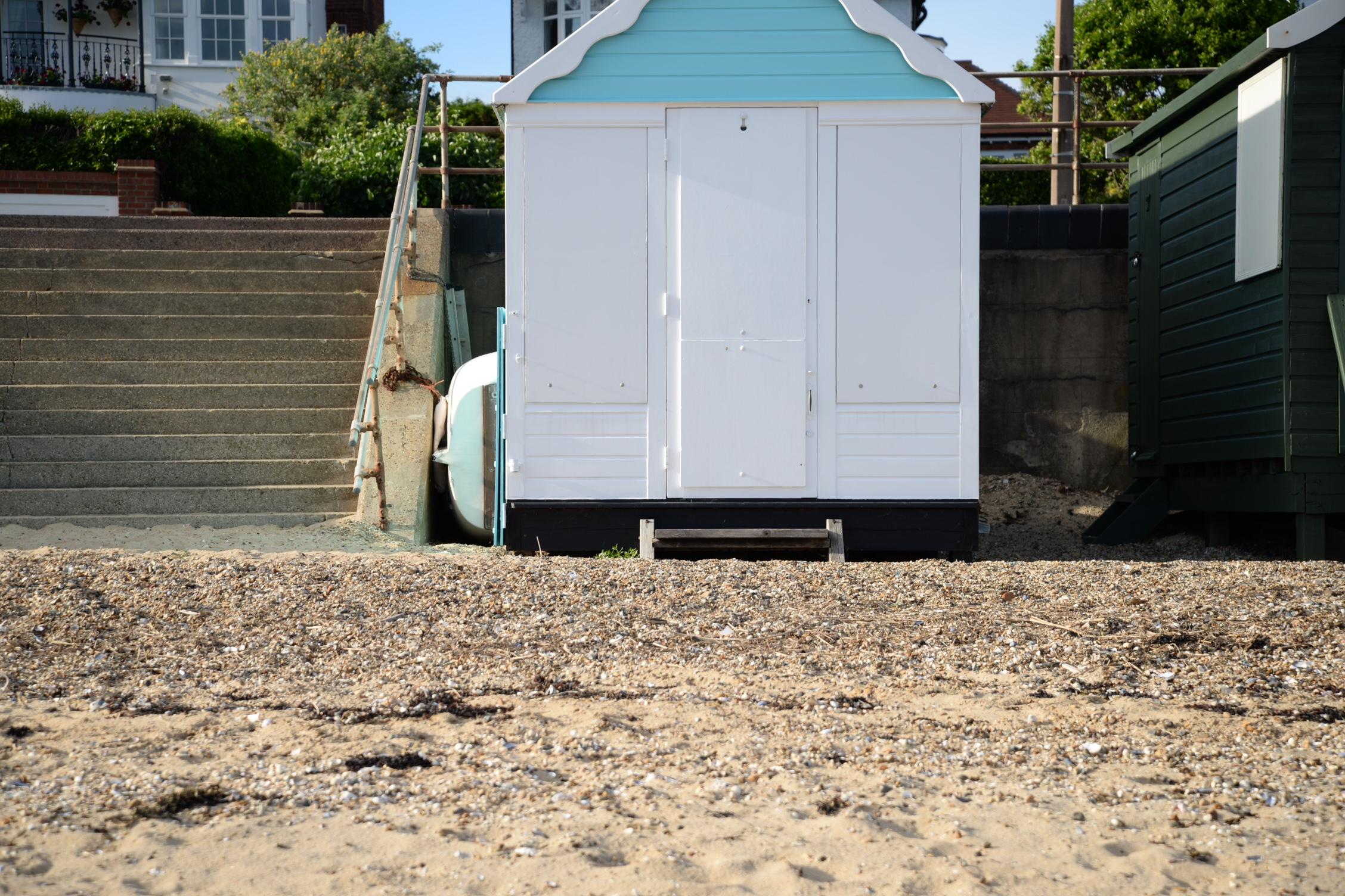 Strandhuisje Southend pastel