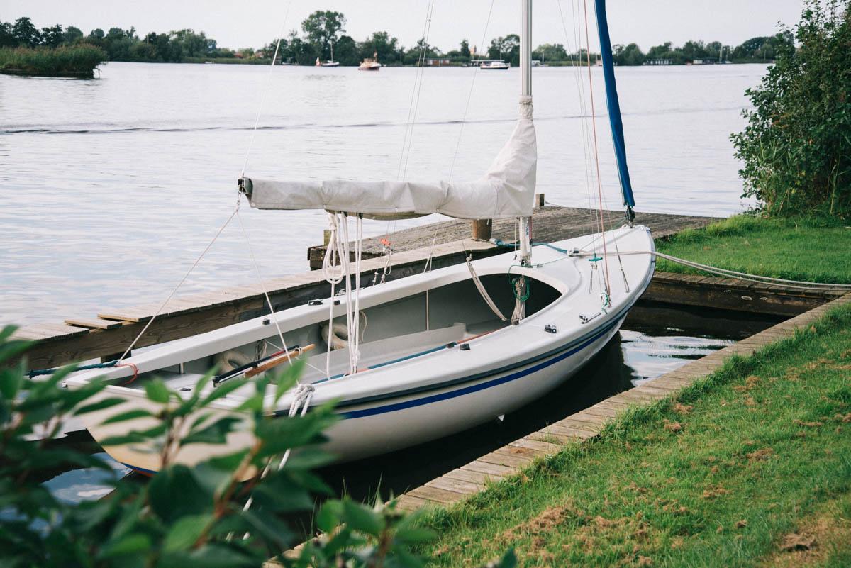 zeilboot-paen