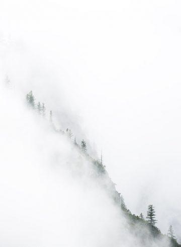 Schneebrett lawine