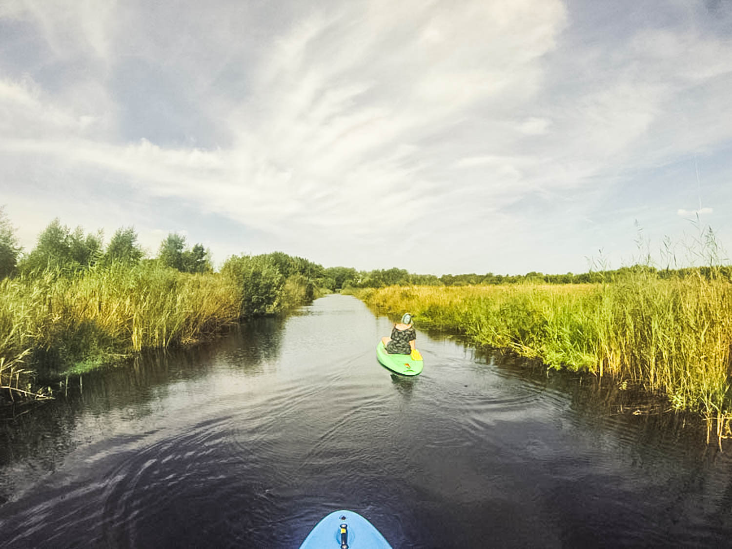 Stand up paddle in Friesland