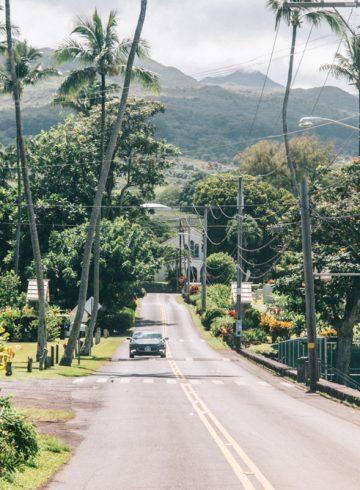 Route door Hawaii
