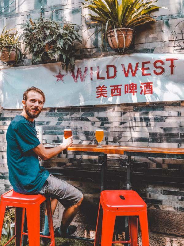 Craft bier in Jinli Street