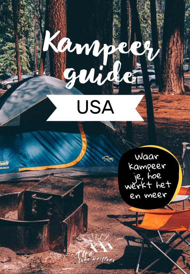 Kamperen in Amerika Pinterest