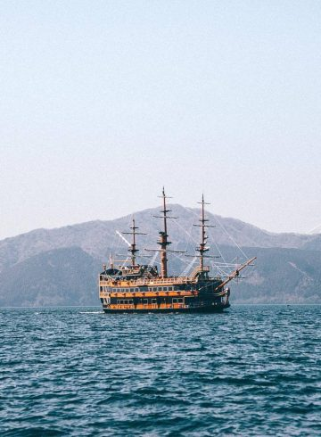 piratenschip in Hakone