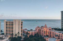 Oahu uitzicht skybar