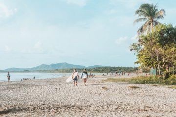 surfers Tamarindo