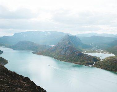 uitzicht fjord Noorwegen